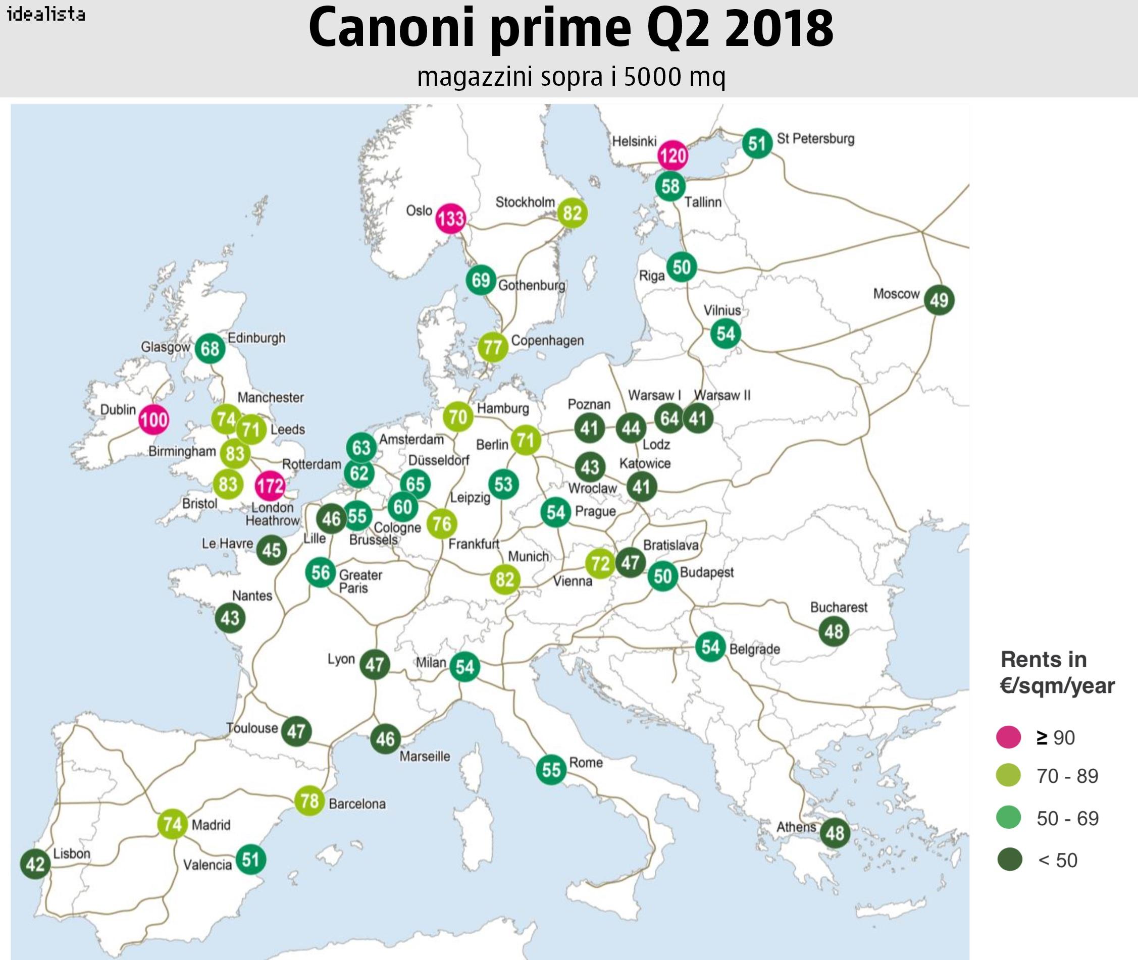 canoni logistica europa