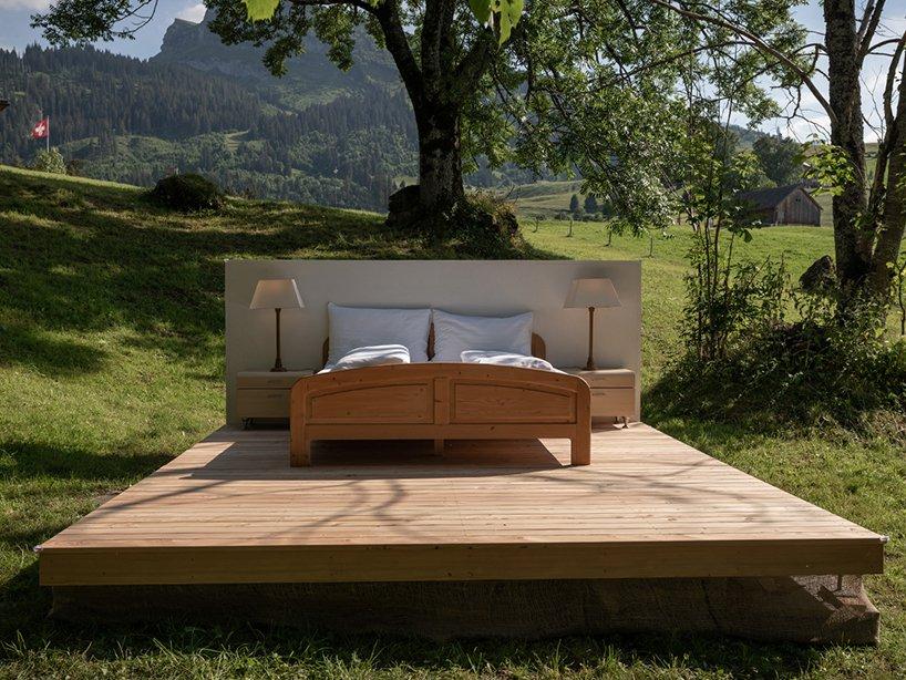 """Una """"stanza"""" in mezzo alla natura"""