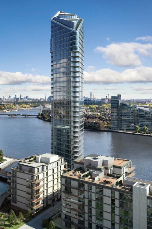 Fa parte dell'esclusivo progetto Chelsea Waterfront