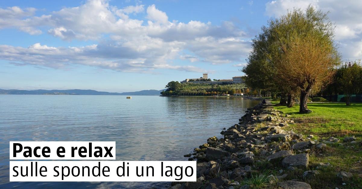Pace e relax sulle sponde di un lago