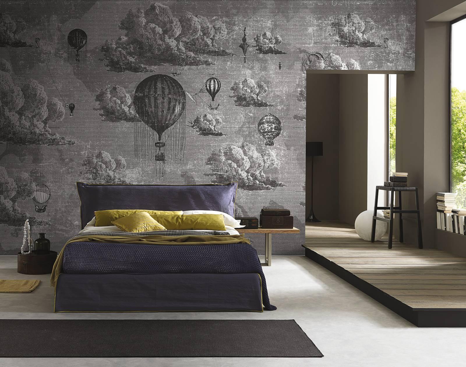 Carta da parati per camere da letto ecco quale scegliere for Carta da parati muro