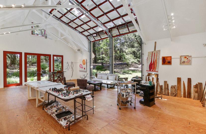 Lo studio d'arte dall'interno / Open Homes