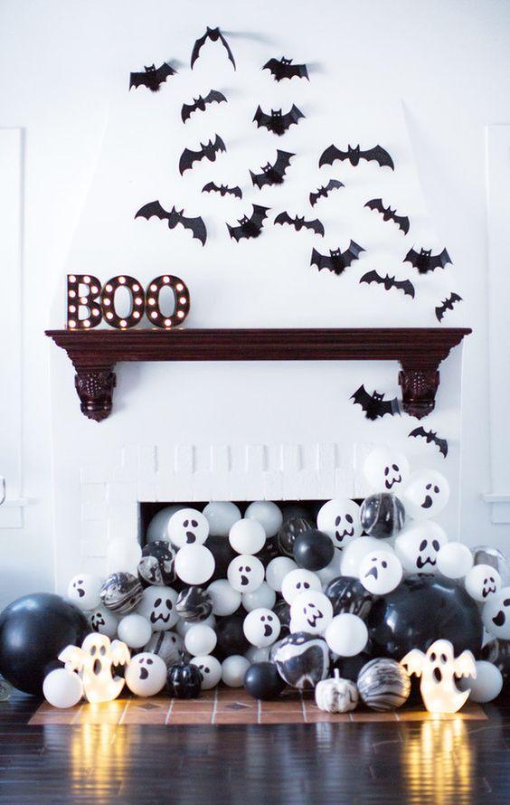 Pipistrelli sui muri