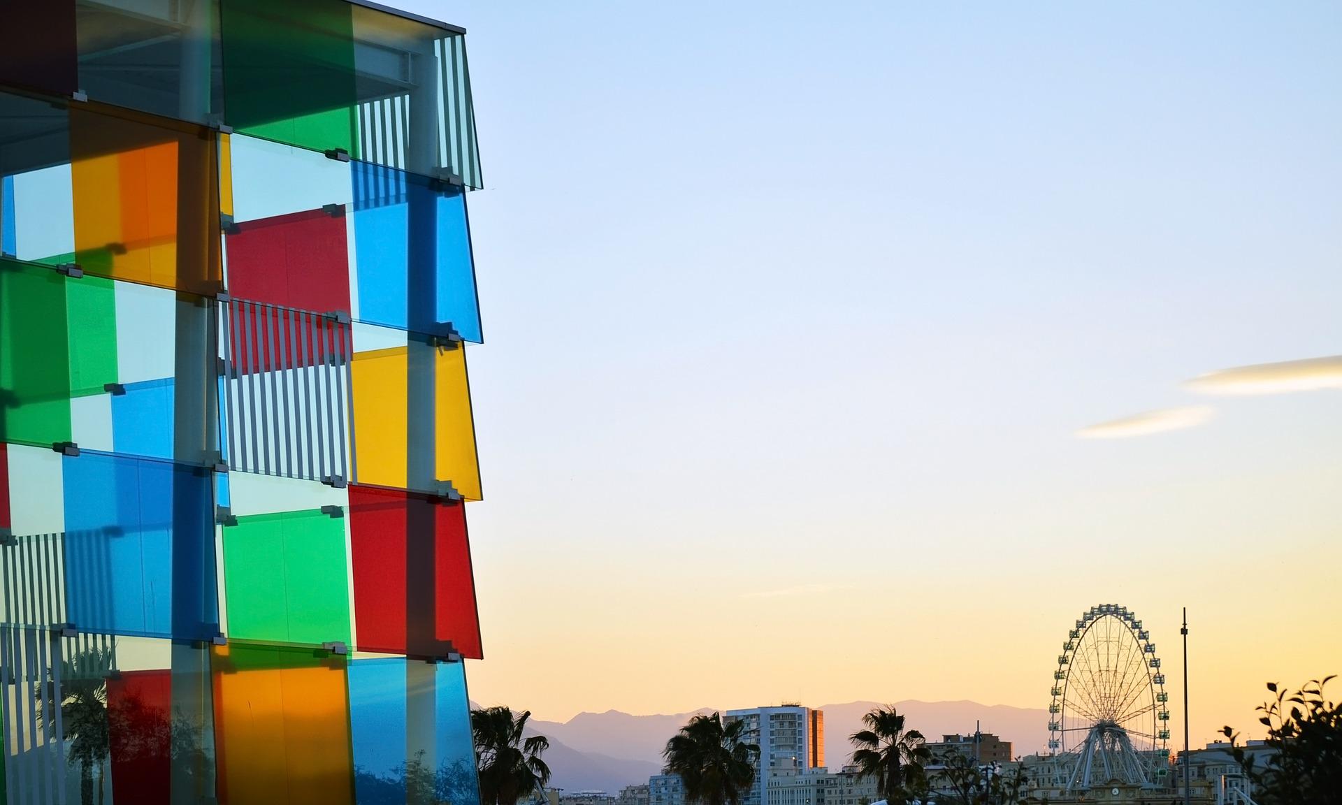 Malaga: il Centre Pompidou