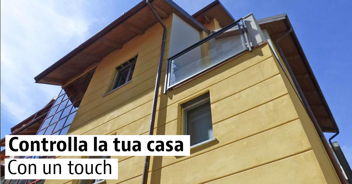 Controlla la tua casa con un touch