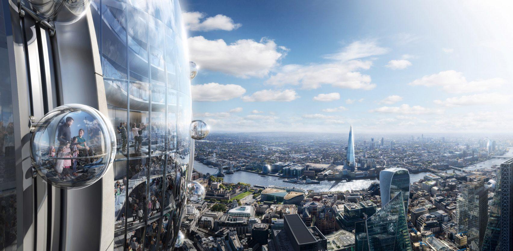 Sarà il secondo edificio più alto di Londra / DBOX for Foster + Partners