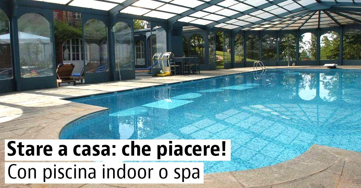 Spa e piscina indoor: benessere in casa