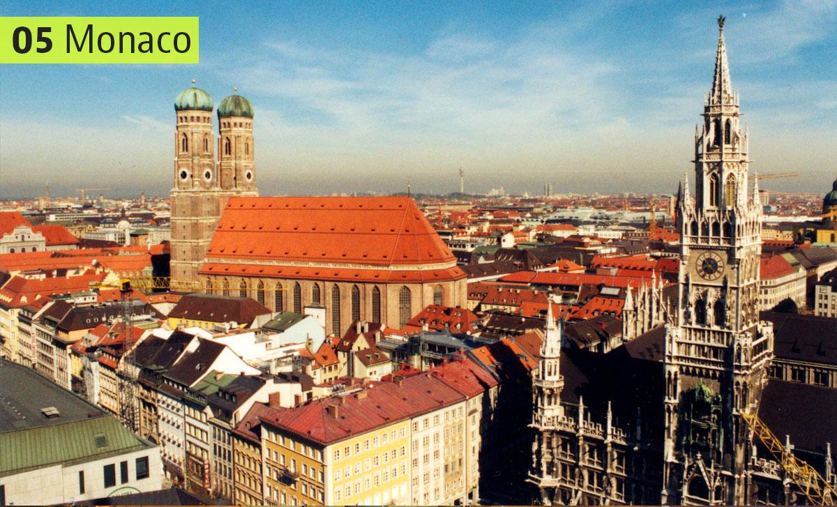 Capitale della Baviera