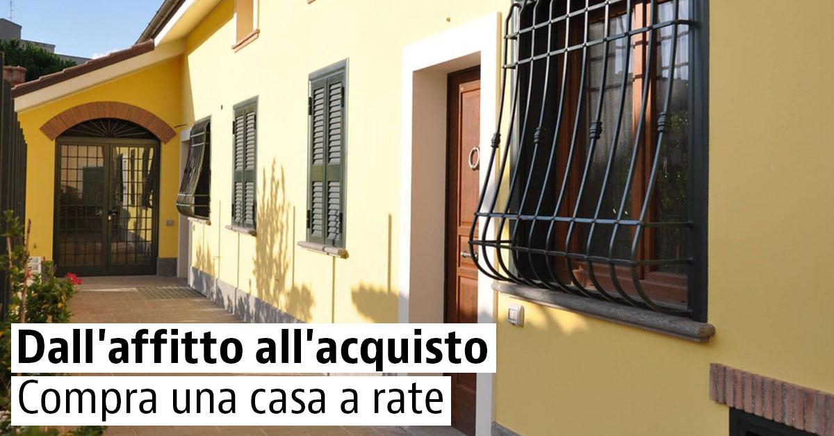 Case in affitto con riscatto in Italia