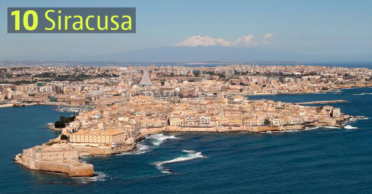 Le città con il miglior clima in Italia