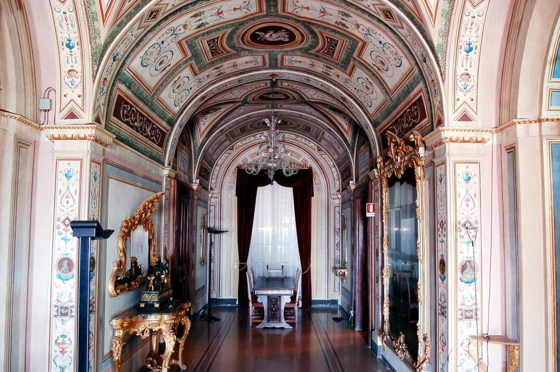 Biblioteca comunale Mozzi Borgetti, Macerata / FAI Fondo ambiente italiano