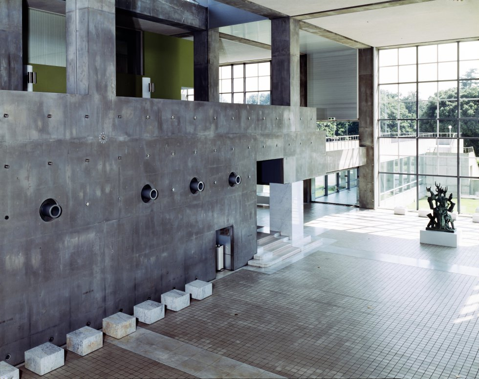 Entrata del Museo di Arte Moderna di Gunma, Giappone / YASHUHIRO ISHIMOTO