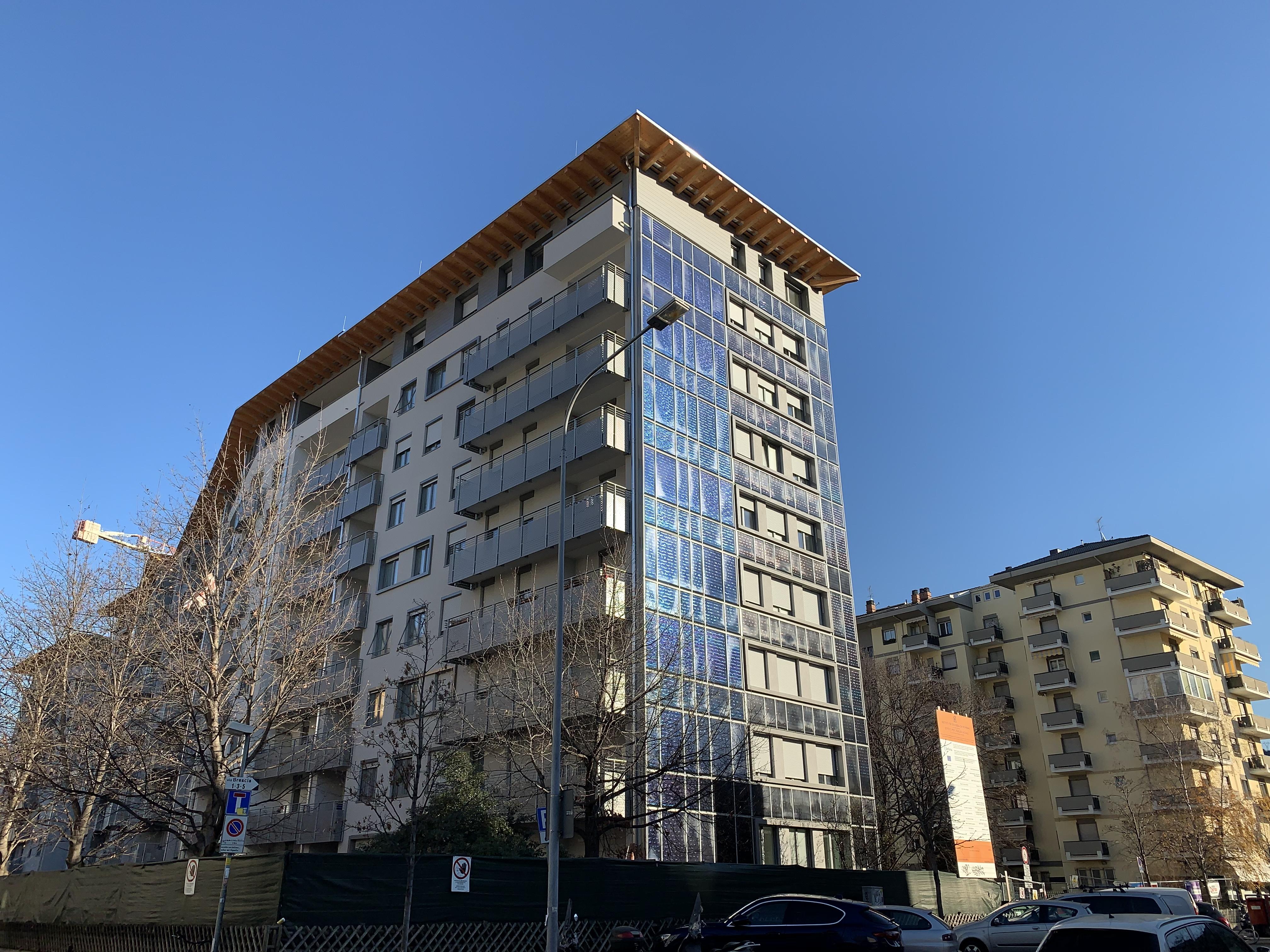 Case popolari di Bolzano dopo la riqualificazione