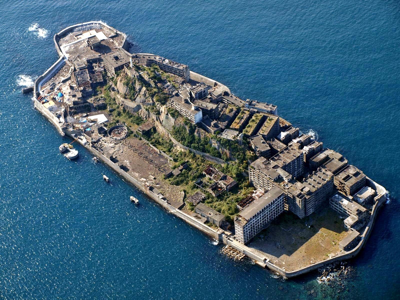 L'isola della nave da guerra