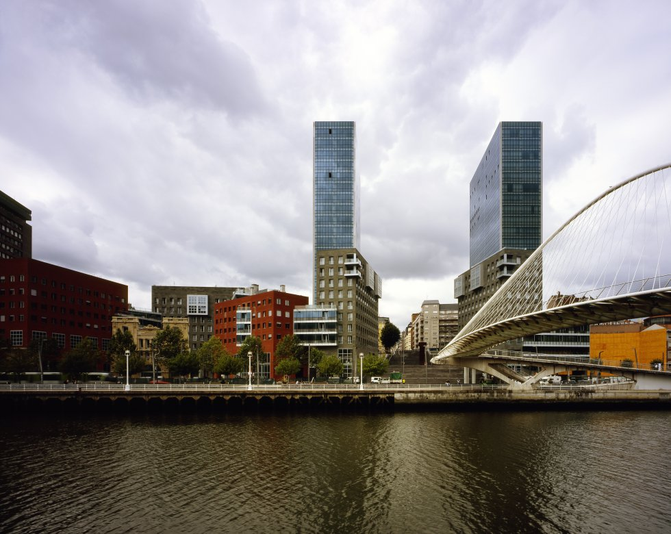 Torri Isozaki a Bilbao / Getty