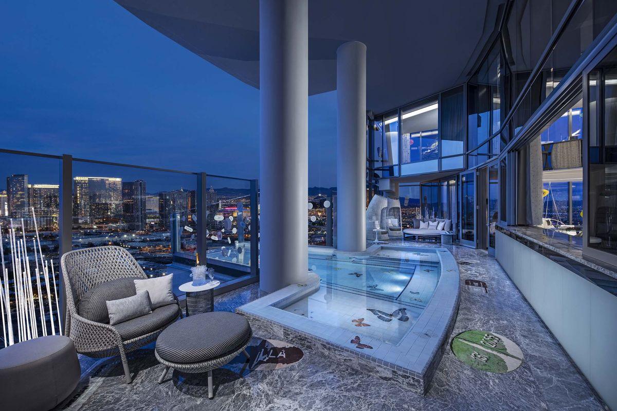 La suite costa 89mila euro a notte / Bloomberg