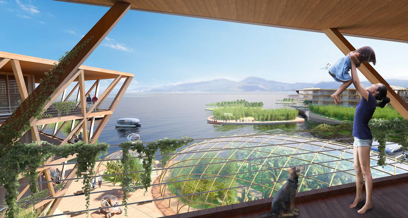Lo studio di architettura Bjarke Ingels Group (BIG) è responsabile del progetto