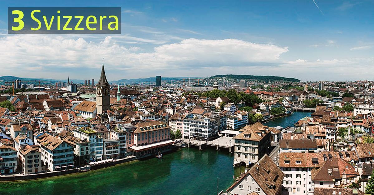 I Paesi più sostenibili: Svizzera
