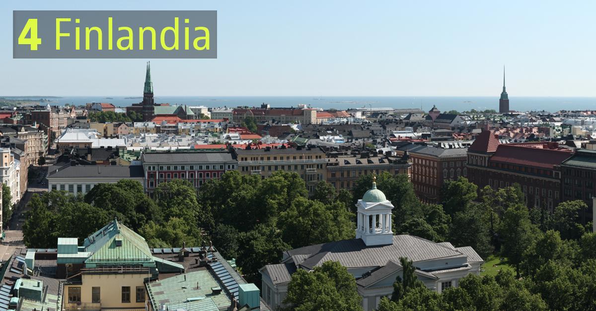 I Paesi più sostenibili: Finlandia