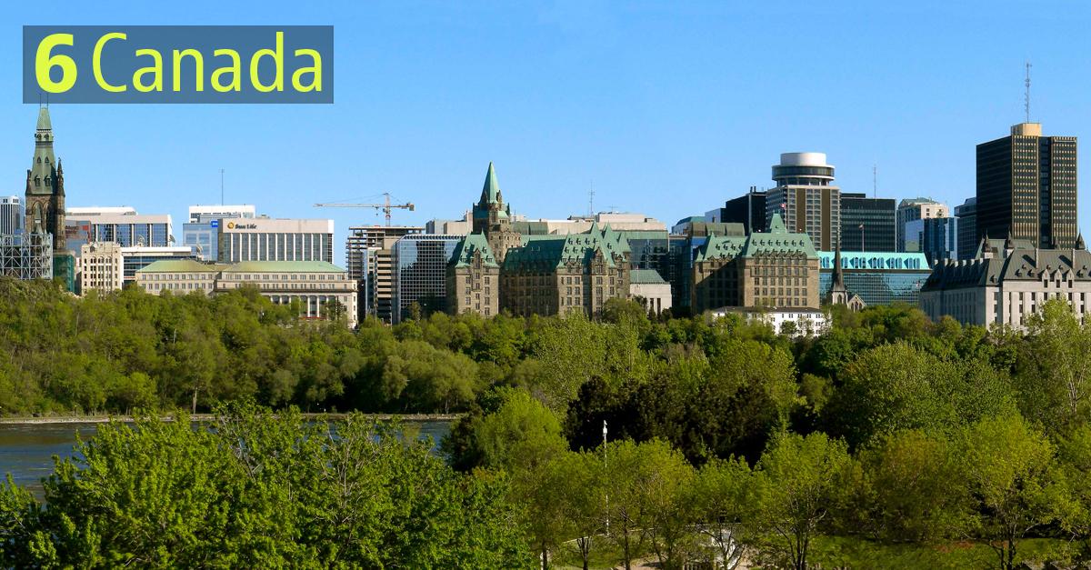 I Paesi più sostenibili: Canada