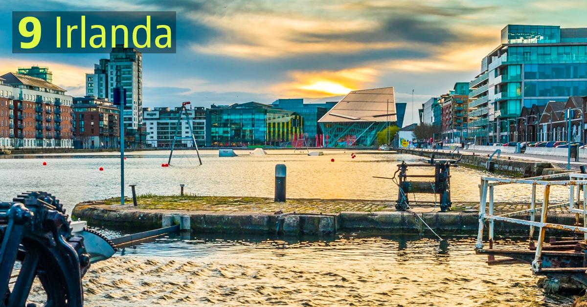 I Paesi più sostenibili: Irlanda