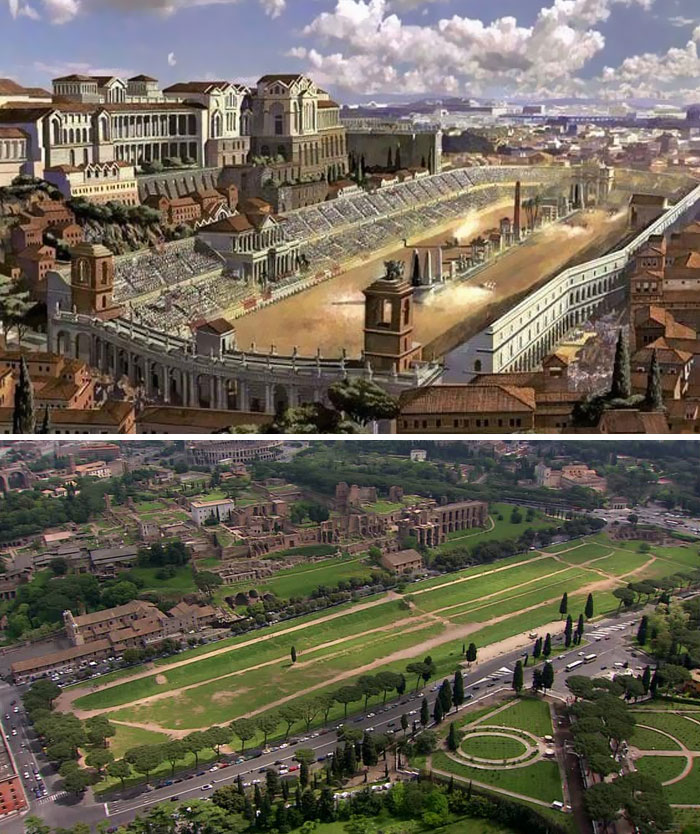 La principale arena dell'Antica Roma
