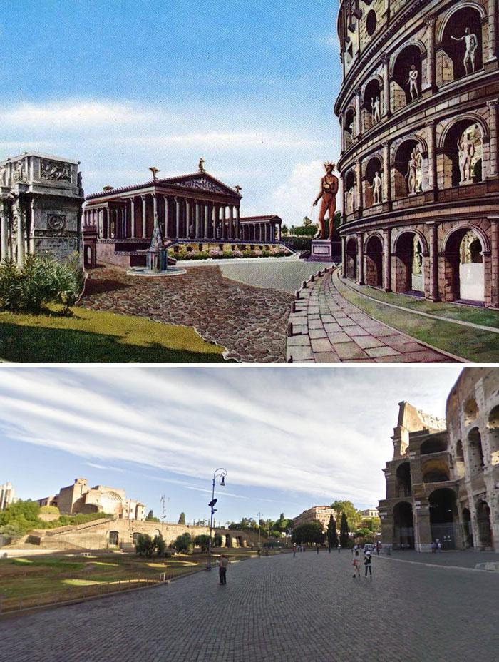 Situato nella parte orientale del Foro romano