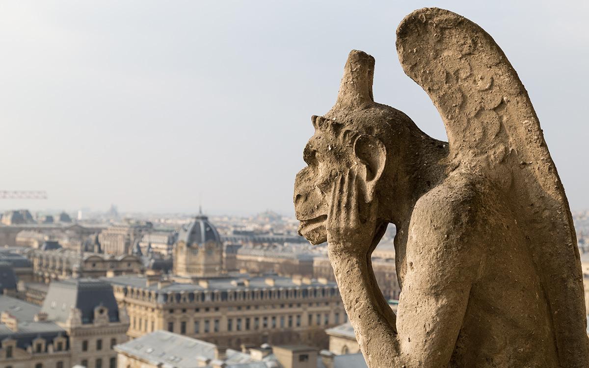 La cattedrale di Notre-Dame a Parigi