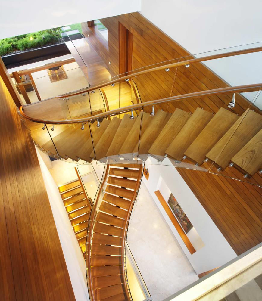 Le scale interne