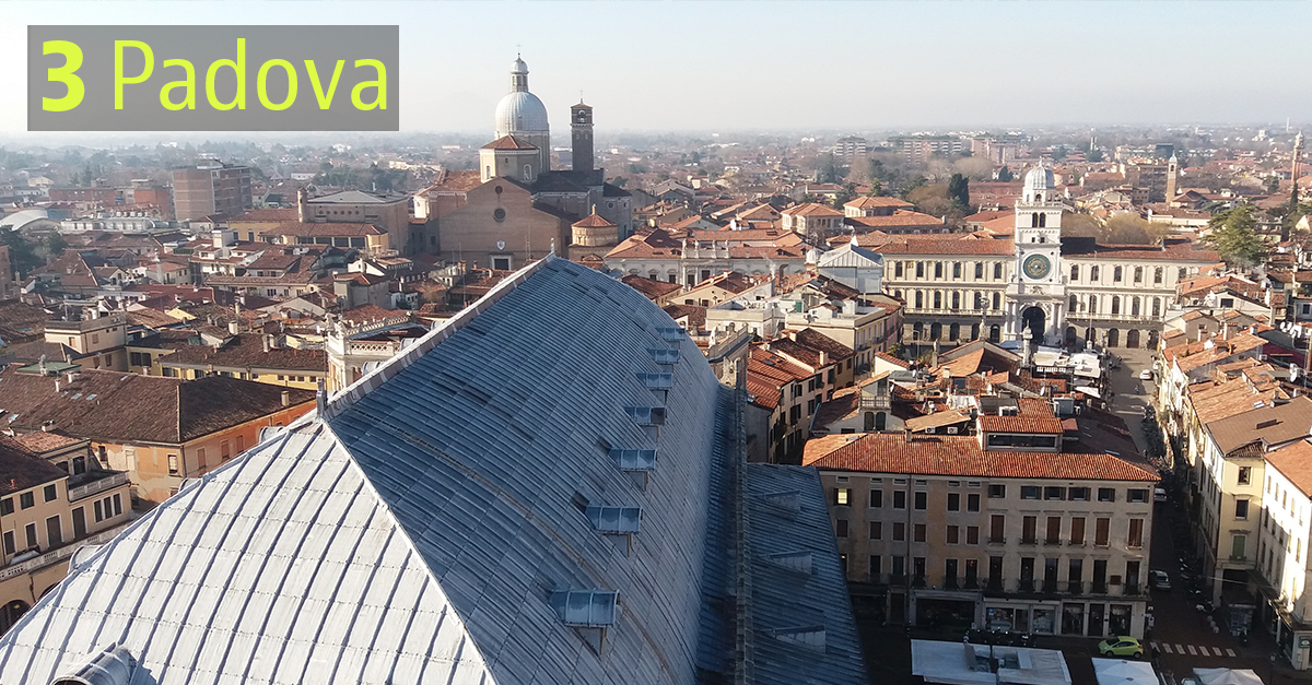 Padova è notoriamente una città universitaria