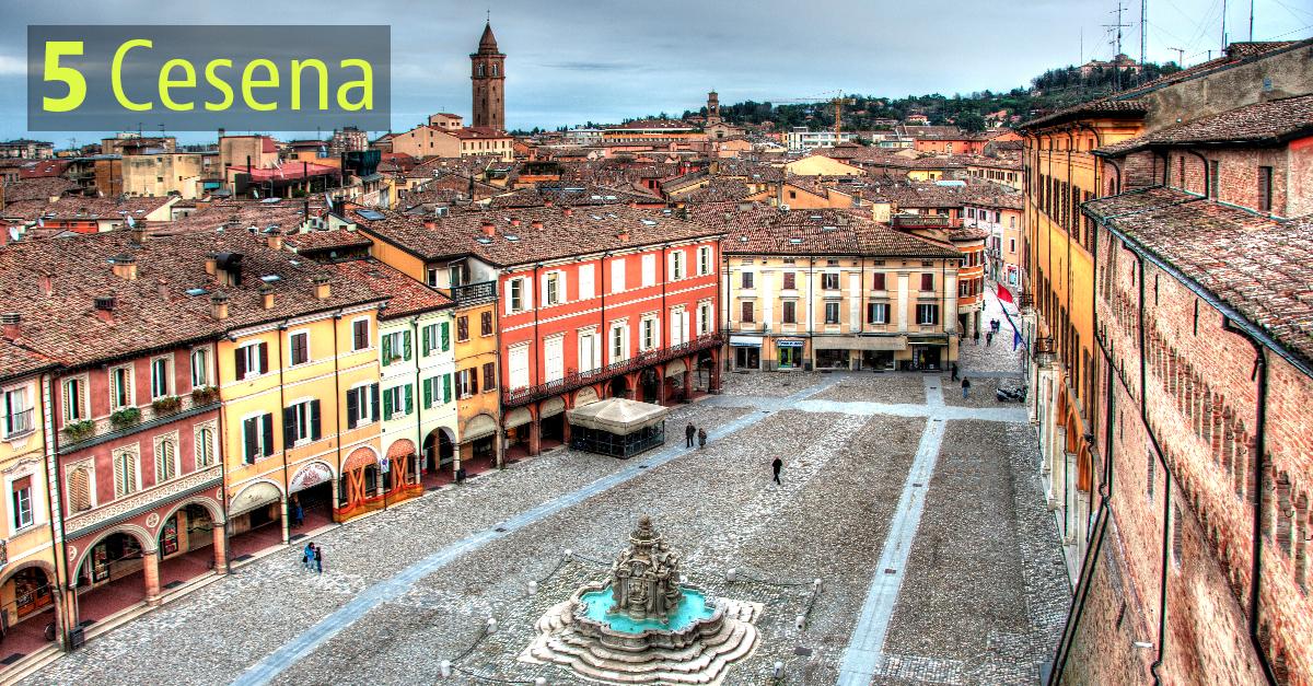 Cesena ha oltre 97mila abitanti