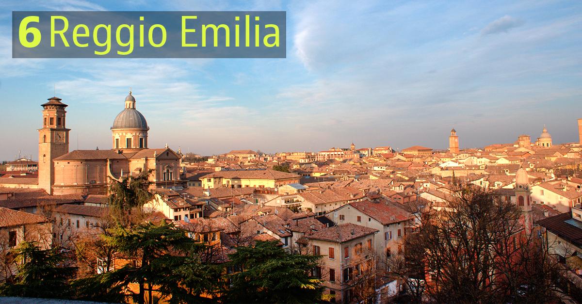 Ennesimo capoluogno dell'Emilia Romagna in top ten