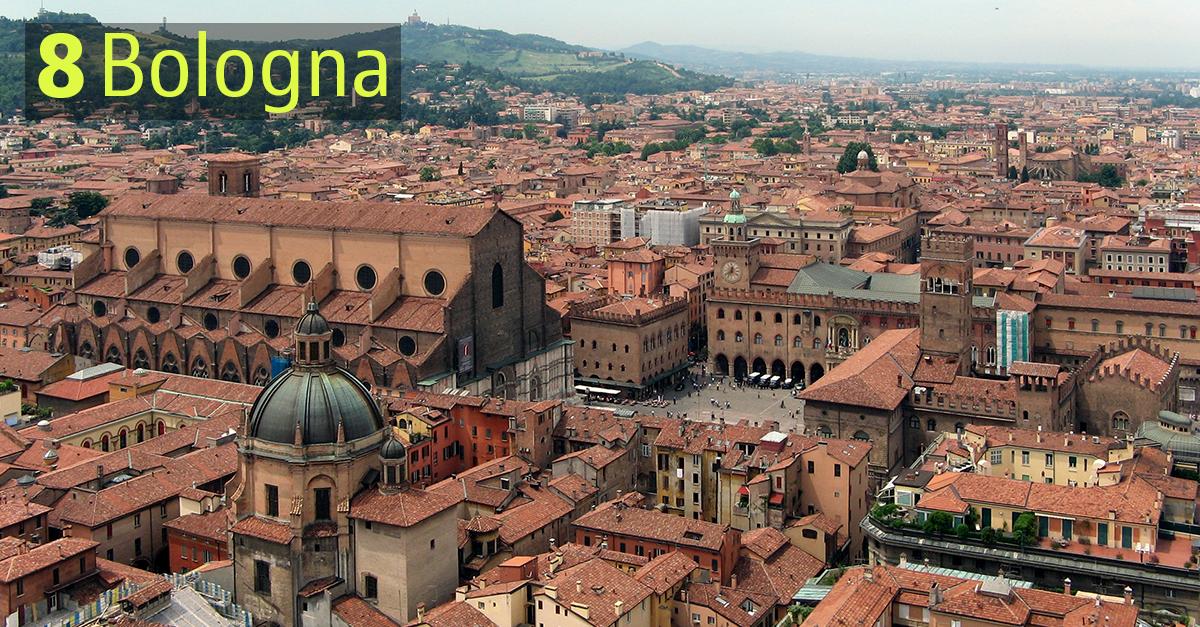 Bologna è capoluogo di Regione