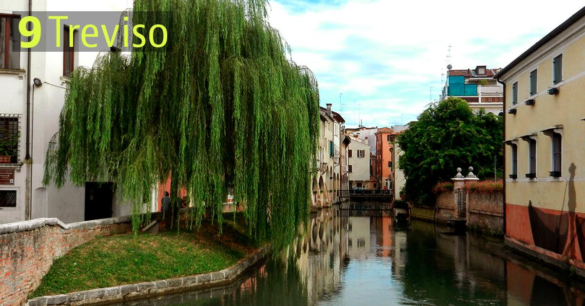 Treviso conta quasi 84mila abitanti