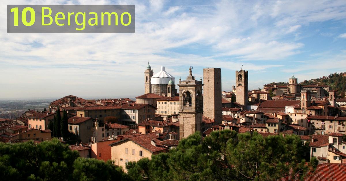 Bergamo chiude la top ten