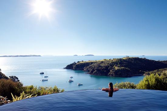 Delamore Lodge, Isola Waiheke, in Nuova Zelanda
