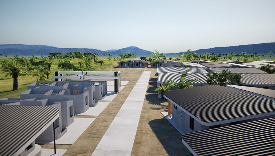 Il primo quartiere al mondo stampato in 3D