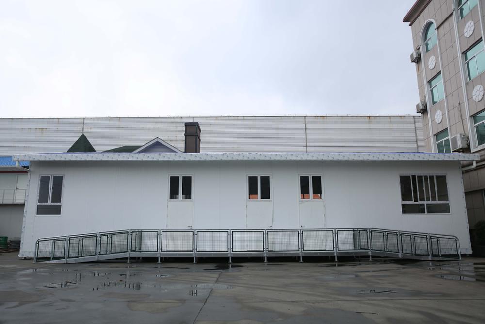 Casa prefabbricata in PVC