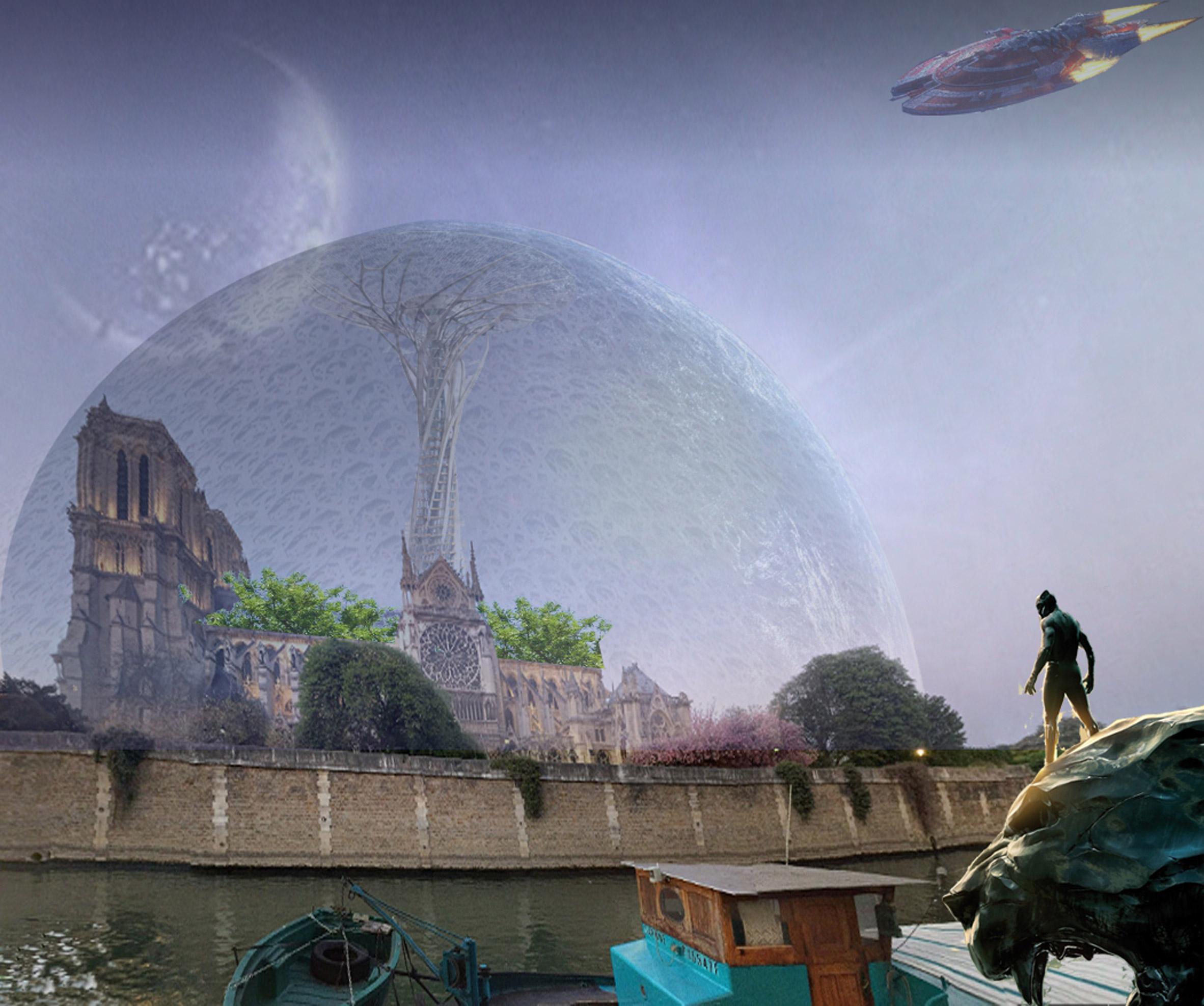 Una bolla futurista / Bored Panda