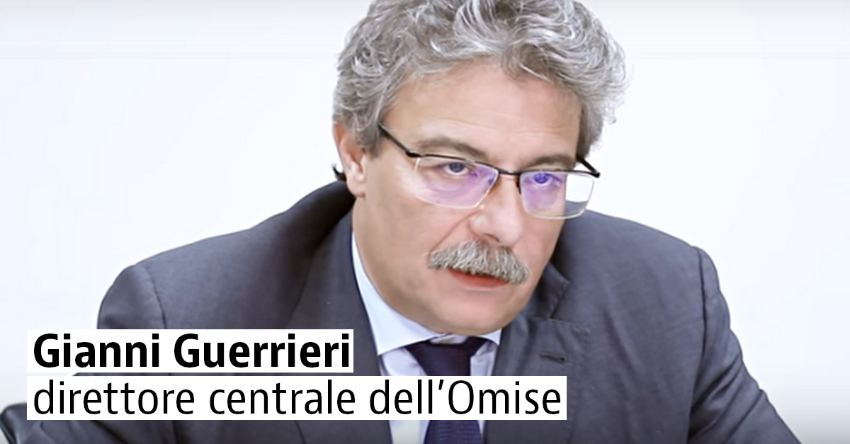 Gianni Guerrieri, direttore dell'Omise