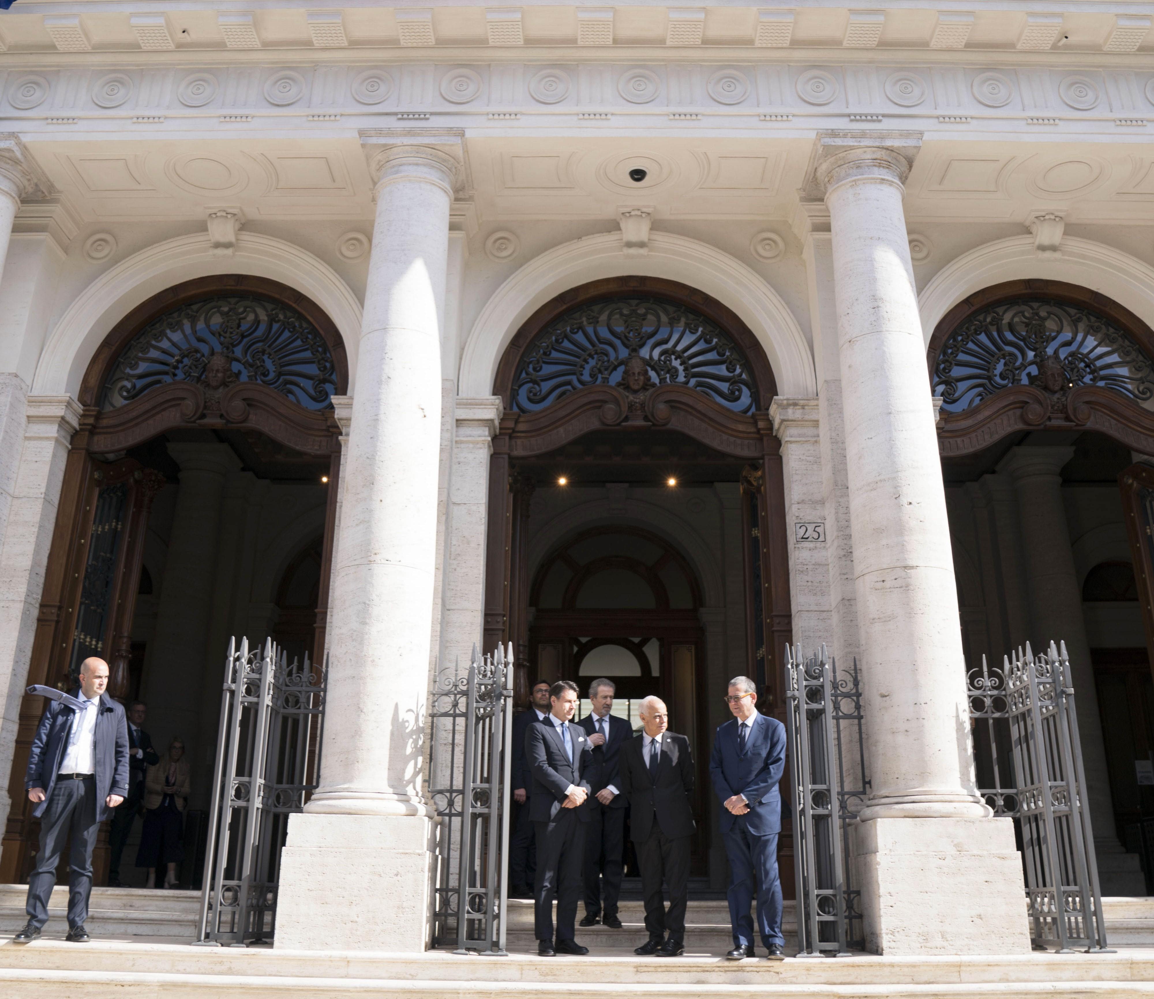 La nuova sede dell'Intelligence italiana in Piazza Dante a Roma