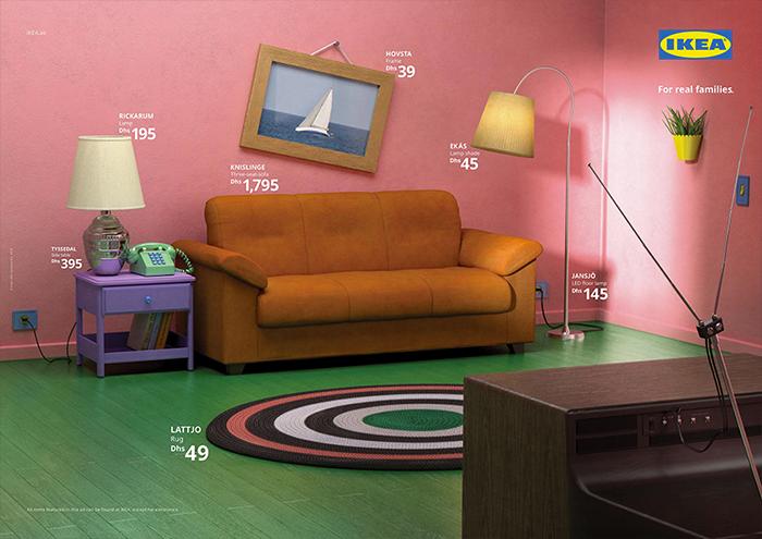 Non Solo Salotti Arredamento Bari.Ikea Ha Ricreato I Salotti Di Alcune Serie Tv Con I Propri Mobili