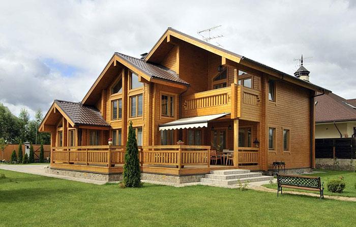 Laminated Log House 131.500 euro