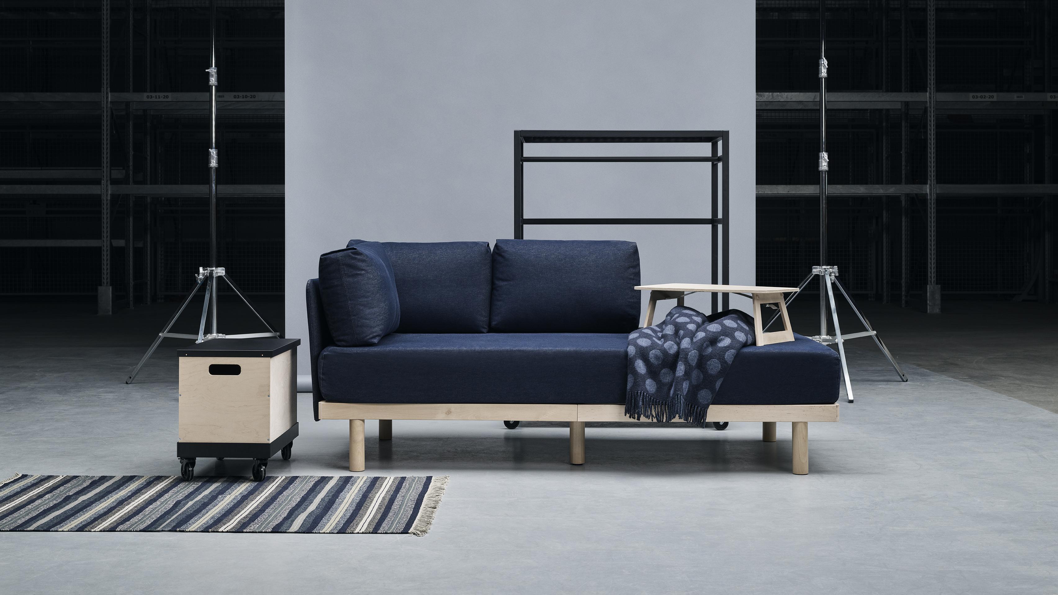 Poltrona Letto Ikea Prezzi.Ikea Ha Progettato Un Carrello Che Si Trasforma In Divano Letto