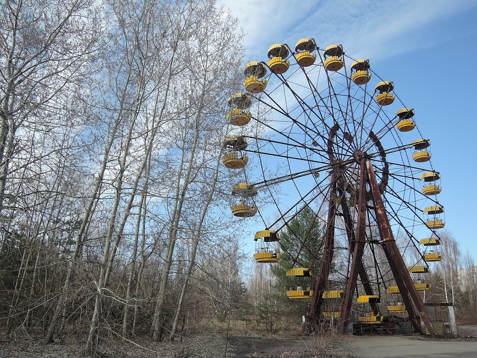 Un parco giochi di Chernobyl