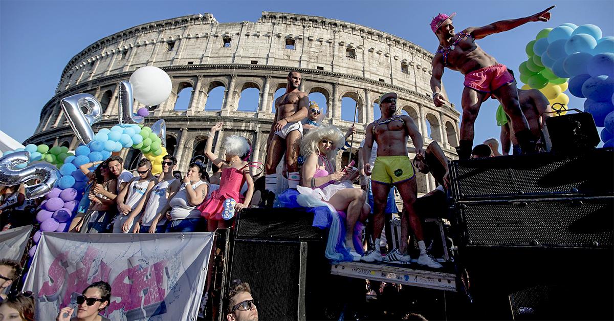 Le città più gay friendly d'Italia / Gtres