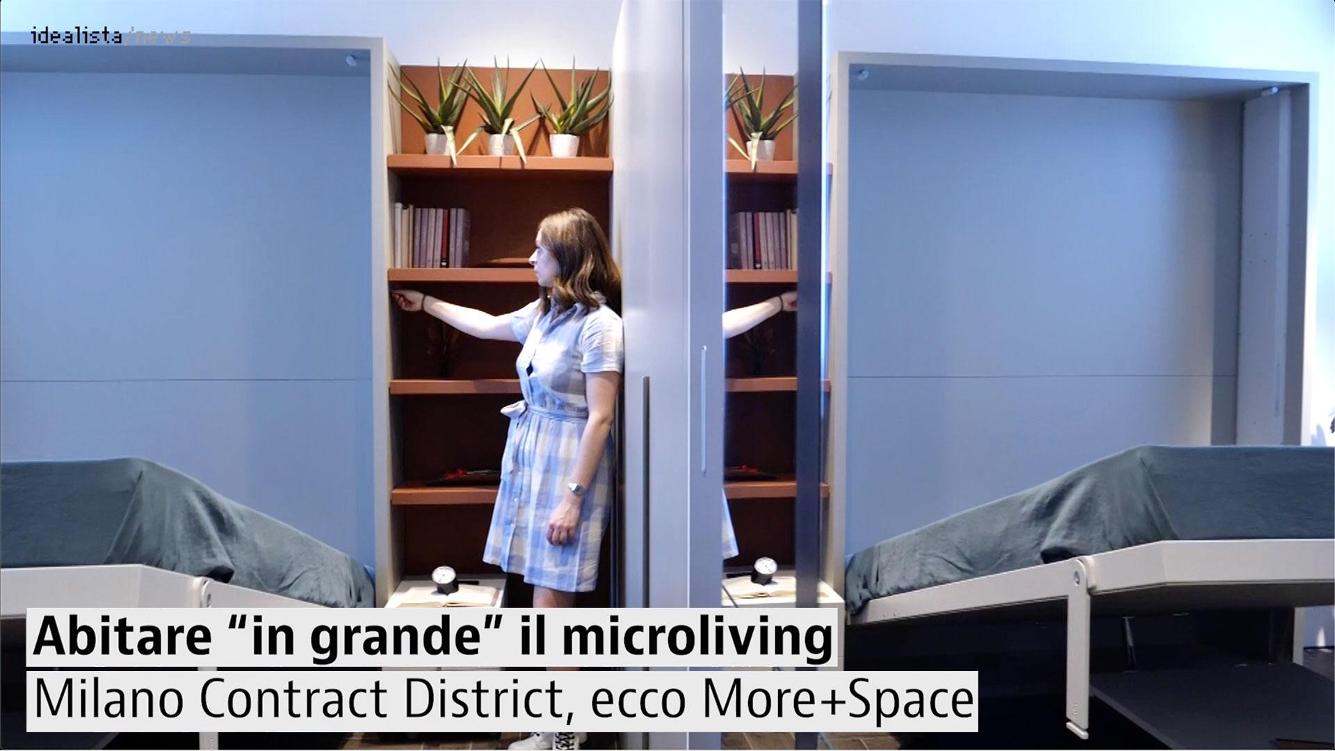 More+Space, il microliving del Milano Contract District