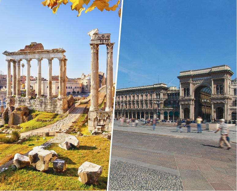 Milano e Roma