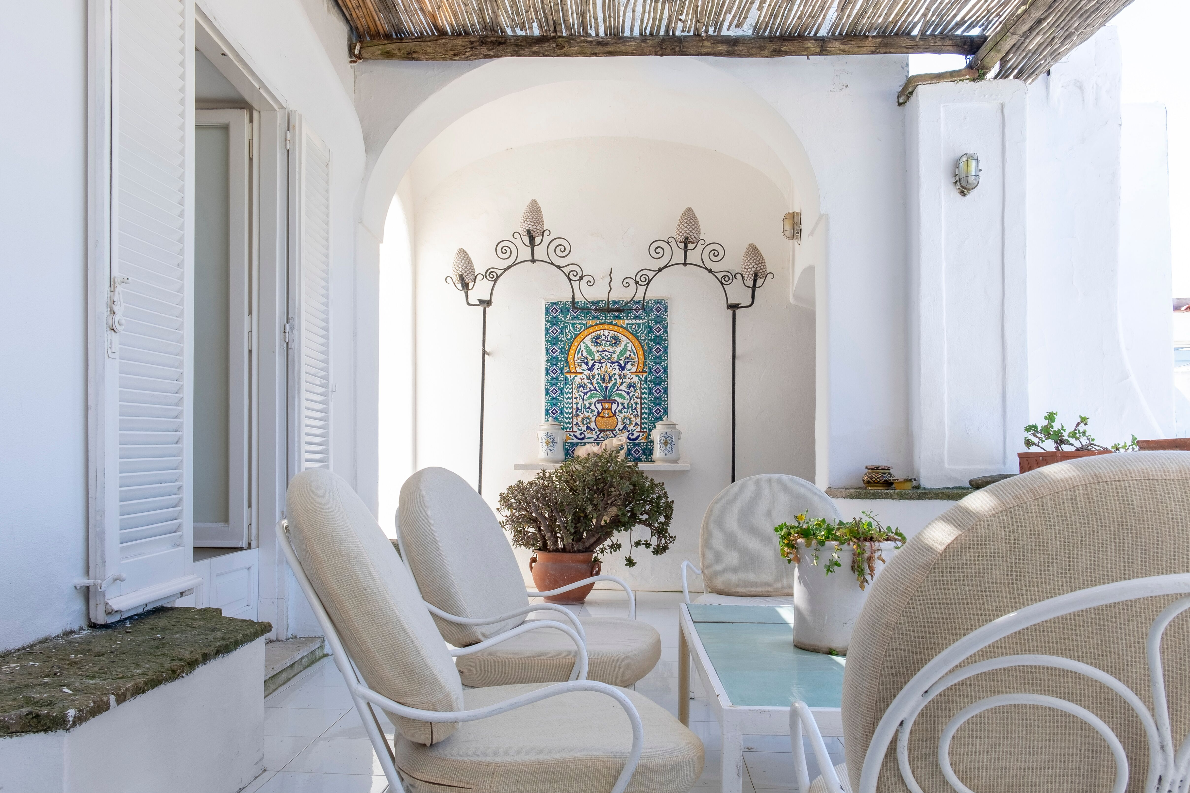 La casa di Mme Colette a Capri, salone / Italy Sothebys International Realty