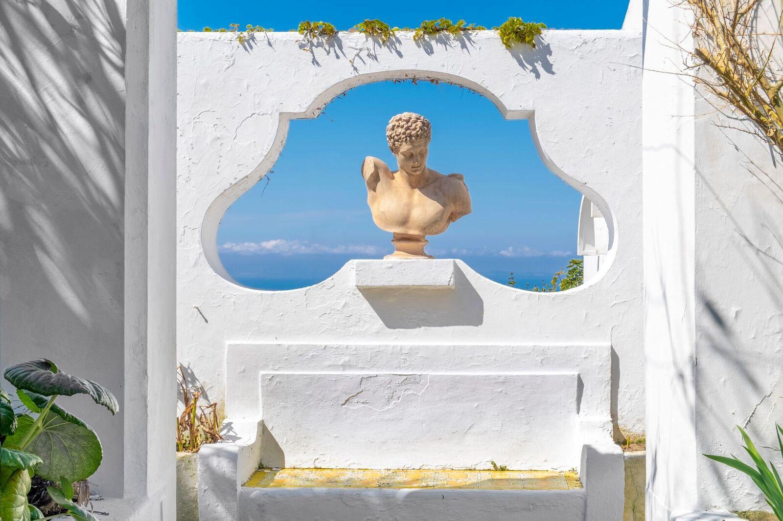 La casa di Mme Colette a Capri